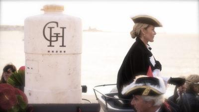 INAUGURATION GRAND HOTEL saint jean de luz lancement de produit soirée evenementielle pays basque animations mise en scène agence evenementielle-semimaire pays basque erronda