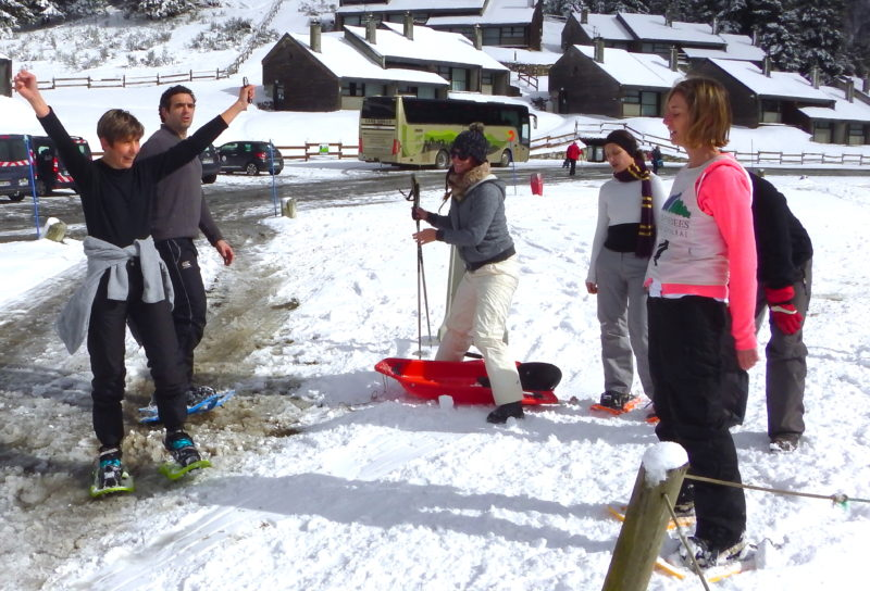incentive team building seminaire pyrénées pays basque biathlon jeux olympiques laser la-mongie font romeu raquette-ski de fond campan payolle agence evenementielle pays basque erronda