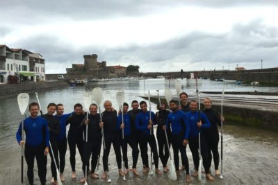 seminaire incentive team building saint jean de luz pays basque stand up paddle degustation vin agence evenementielle erronda