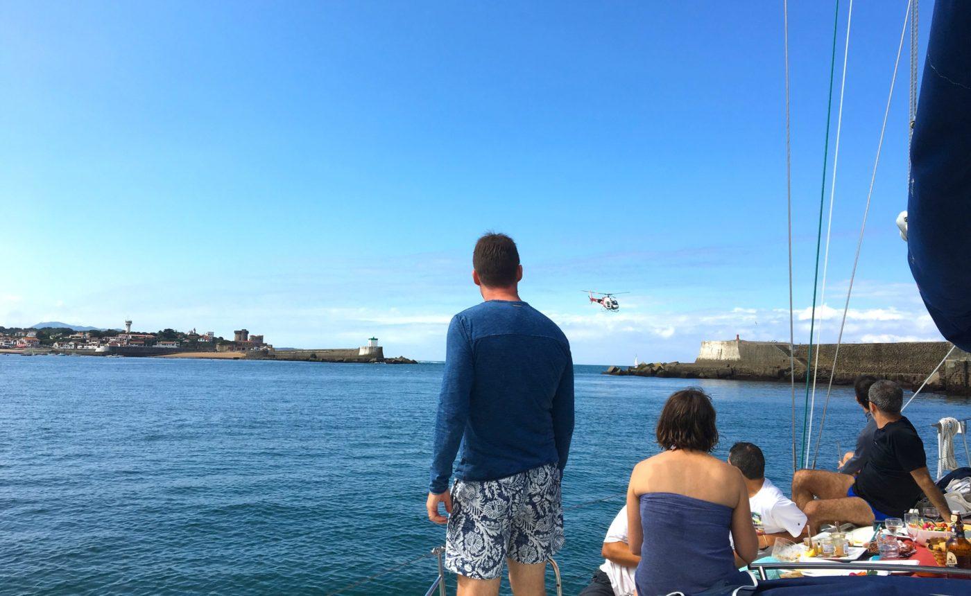 seminaire incentive croisere regate voilier biarritz saint jean de luz hendaye pays-basque pique nique gourmand agence evenementielle erronda