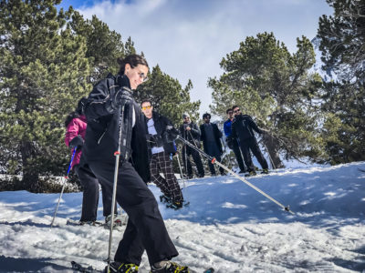 agence evenementielle receptive pays Basque erronda seminaire team building incentive event saint jean de luz pyrenees la mongie baqueira formigal construction raquettes randonnée activité neige