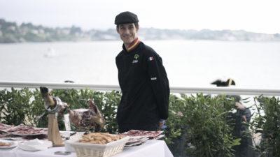 inauguration soirée evenementielle lancement de produit partenaires gastronomiques decoupe jambon saint jean de luz san sebastian biarritz agence evenementielle erronda pays basque