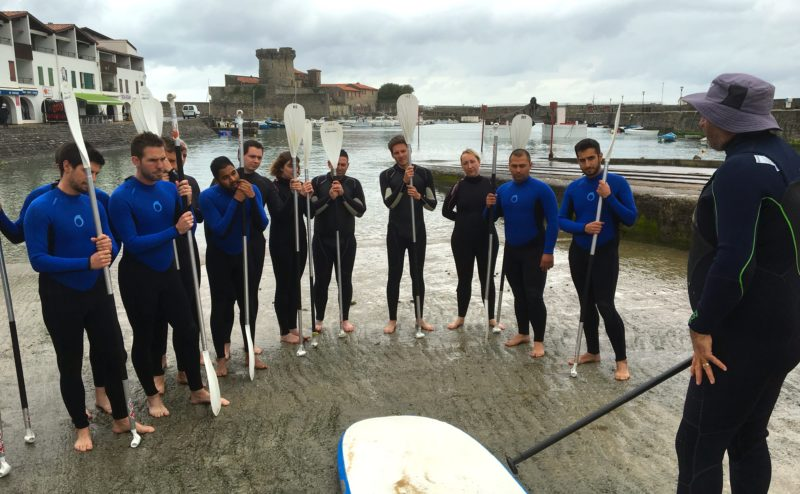 seminaire incentive team building saint jean de luz pays basque biarritz rafting jetski paddle degustation vin agence evenementielle erronda-5