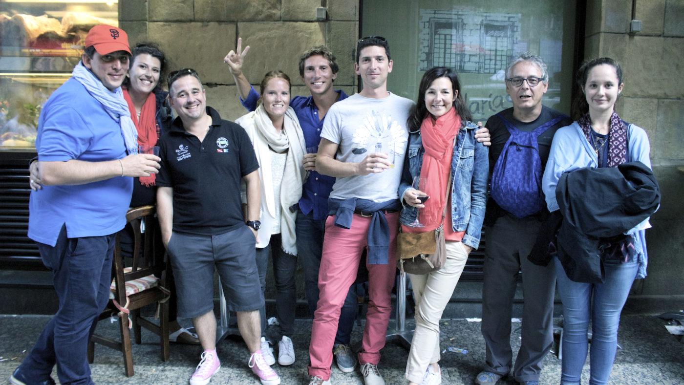 seminaire saint sebastien san sebastian incentive croisiere voilier pays basque semana grande san sebastian feux artifices agence evenementielle erronda le cercle voyage