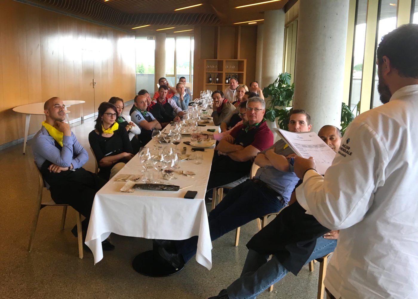 Seminaire team building cuisine Gastronomique agence evenementielle-erronda pays basque hendaye saint sebastien cours de cuisine basque culinary center fontarrabie-
