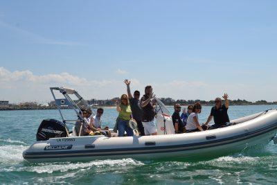 Ile de re zodiac bateau croisière vacances ballade ocean découverte seminaire team building incentive nature agence evenementielle pays basque erronda