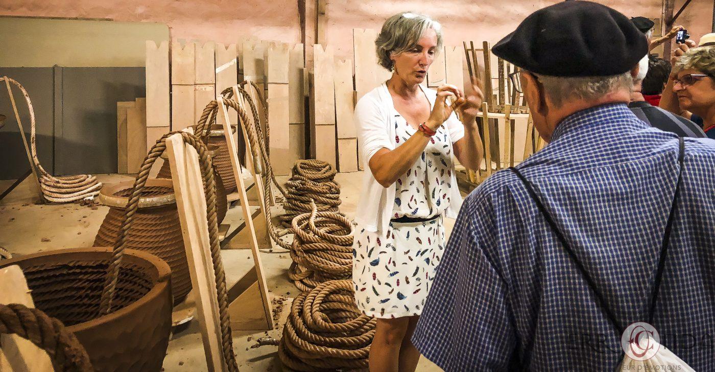Photographie incentive journee decouverte pays basque voyage visite atelier piment poteries charcuterie producteur nature agence evenementielle saint jean de luz erronda