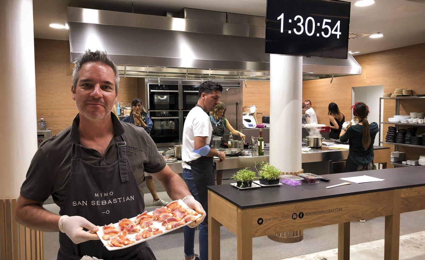 photographie seminaire team building gastronomie decouverte pays basque voyage san sebastian pintxos cuisine marché la breixta monte igueldo agence evenementielle saint jean de luz erronda