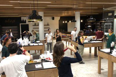 mimo photographie seminaire team building gastronomie decouverte pays basque voyage san sebastian pintxos cuisine marché la breixta monte igueldo agence evenementielle saint jean de luz erronda