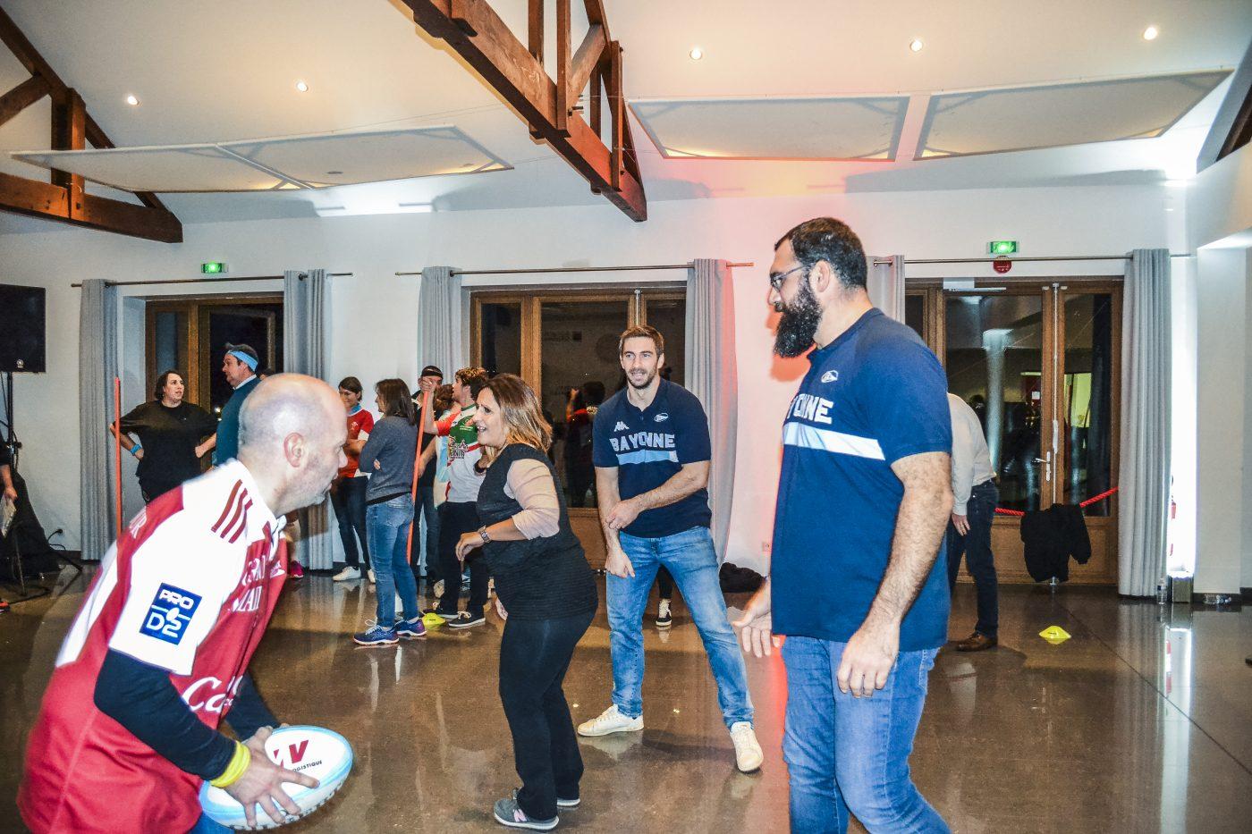 agence événementielle réceptive voyage pays basque erronda séminaire team building event Bayonne joueurs aviron rayonnais rugby