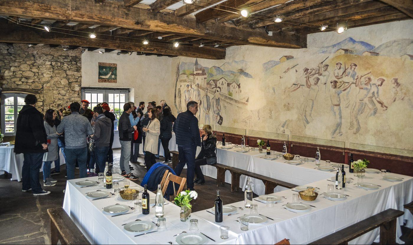 agence événementielle réceptive voyage pays basque erronda séminaire team building saint jean de luz auberge sare charcuterie jambon bellotta
