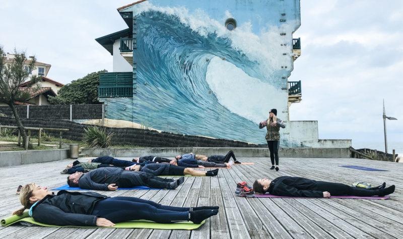 agence de voyage évènementielle pays basque landes Incentive nature foret plage Koh lanta team building yoga course d'orientation vague détente