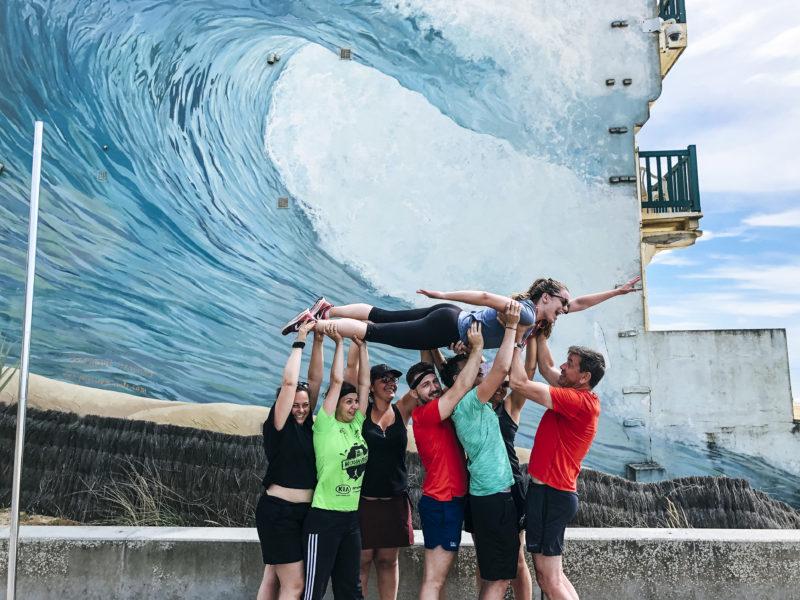 agence evenementielle pays basque erronda seminaire team building incentive event saint jean de luz hossegor landes plein air ocean lac sauvetage cotier course orientation vélo vague graf surf