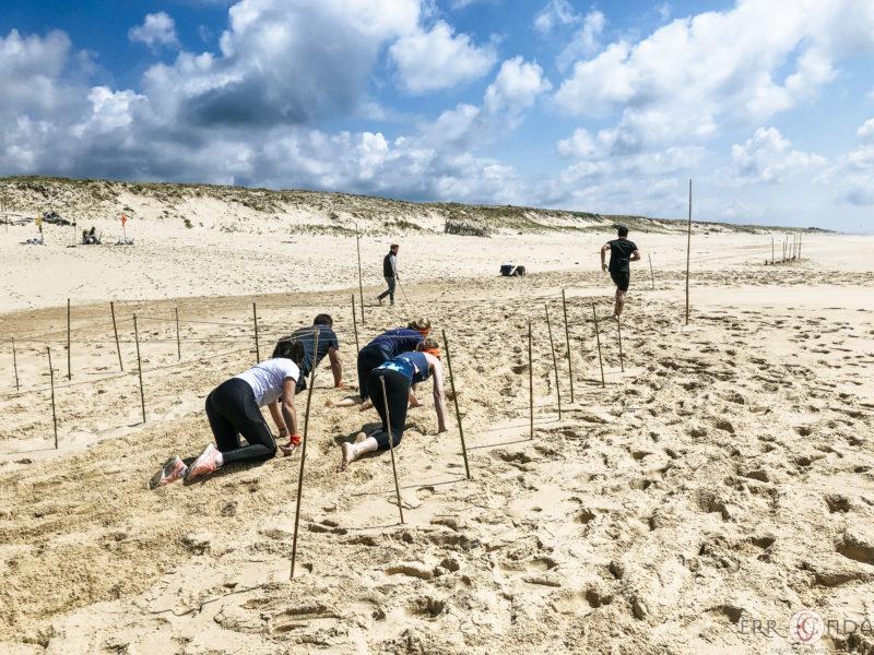 agence evenementielle receptive pays Basque erronda seminaire team building incentive event saint jean de luz landes Koh lanta challenge hossegor seignosse sport aventure plage epreuve de l eau
