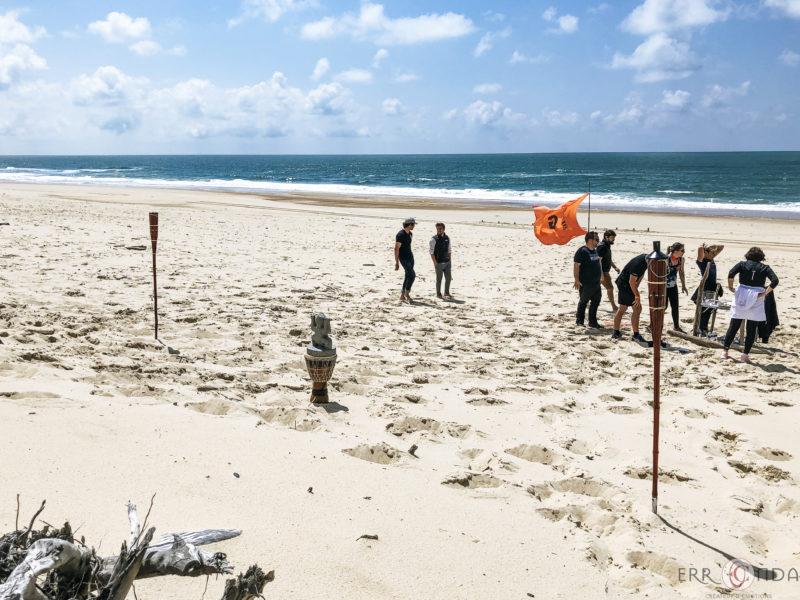 agence evenementielle receptive pays Basque erronda seminaire team building incentive event saint jean de luz landes Koh lanta challenge hossegor seignosse sport aventure plage