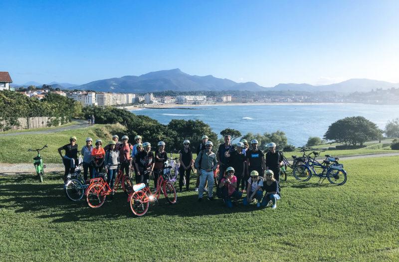 agence evenementielle receptive pays basque erronda seminaire team building creatif incentive event saint jean de luz Sare rallye ballade vélo électrique bergerie apéritif zikiro cote vue océan