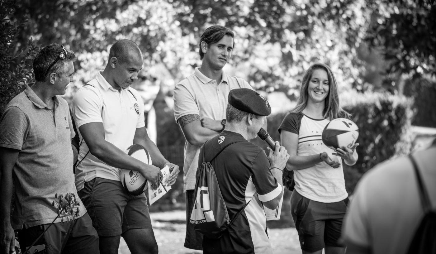 Briefing Rugby Golf IRPB 2019 Chantaco Pays basque Agence Erronda