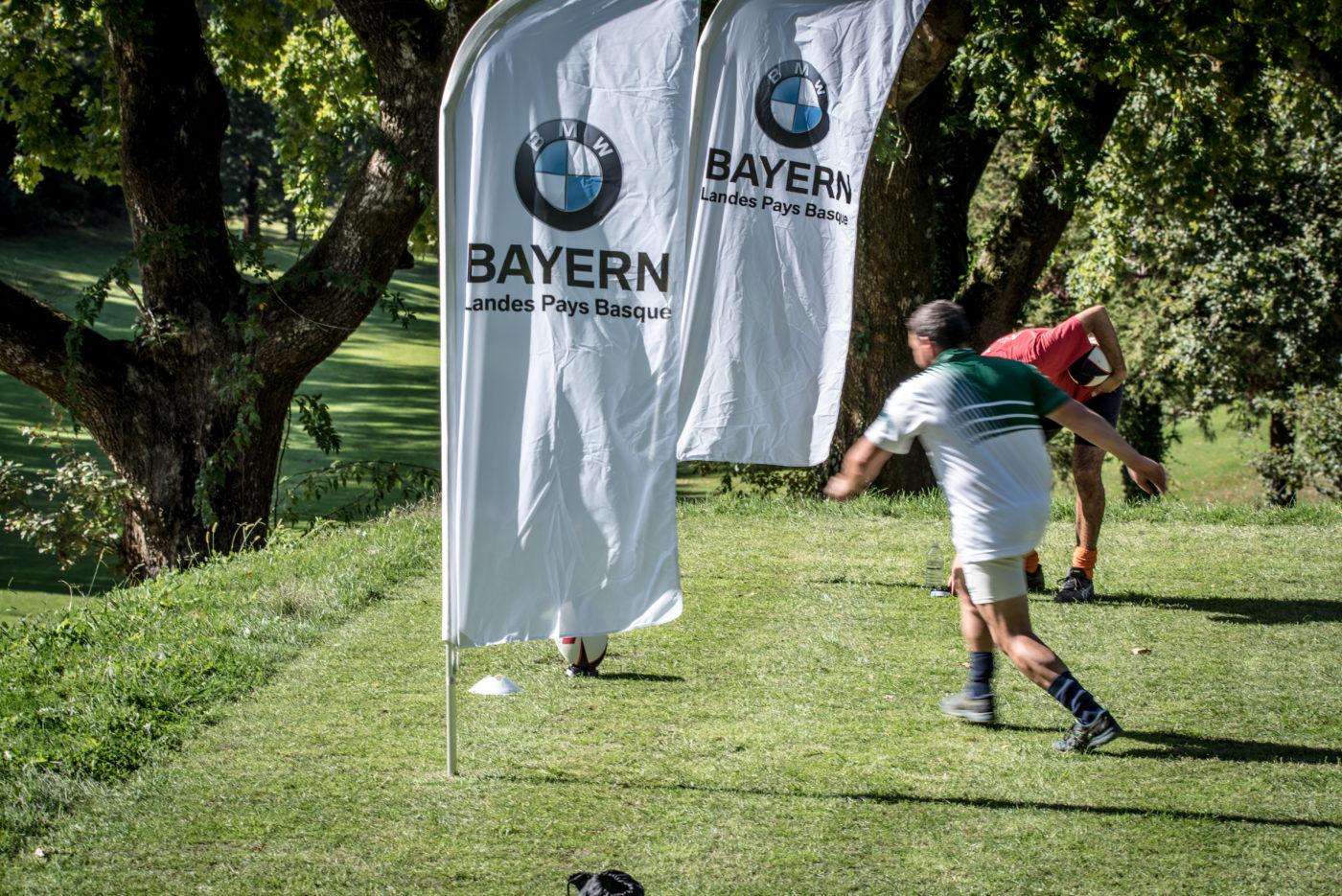 Événement Rugby Golf IRPB 2019 Chantaco Inter réseau Pays basque Agence Erronda BMW