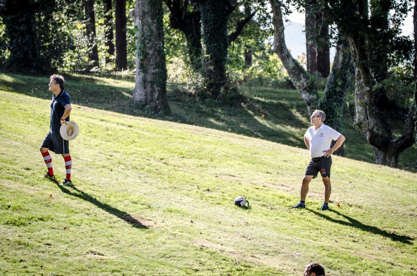 Événement Rugby Golf IRPB 2019 Chantaco Inter réseau Pays basque Agence Erronda Horesto Formation