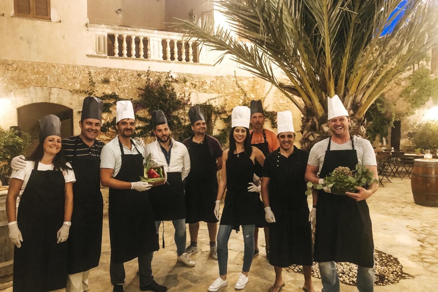 agence evenementielle receptive pays basque erronda seminaire team building incentive event baléares Majorque Mallorca réunion quad cours cuisine