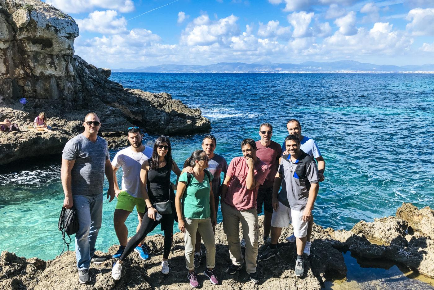 agence evenementielle receptive pays basque erronda seminaire team building incentive event baléares Majorque Mallorca réunion quad criques