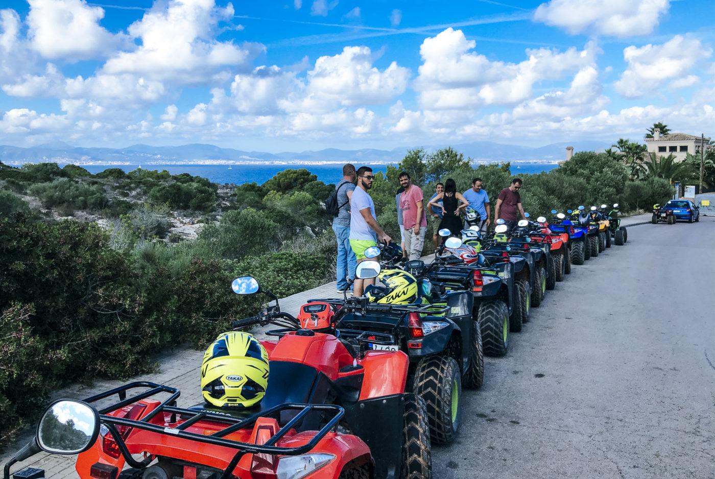agence evenementielle receptive pays basque erronda seminaire team building incentive event baléares Majorque Mallorca réunion quad randonnée criques