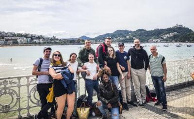 agence événementielle réceptive voyage pays basque erronda séminaire team building event saint jean de luz saint sebastien baie de la concha équipe kayak balade culturelle et gastronomique