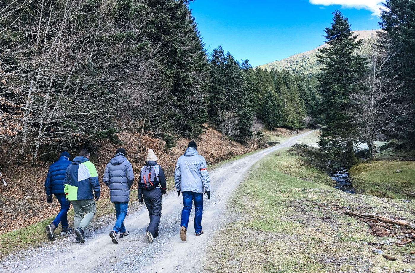 agence evenementielle receptive pays basque erronda seminaire team building incentive event la Mongie pyrénées biathlon payolle